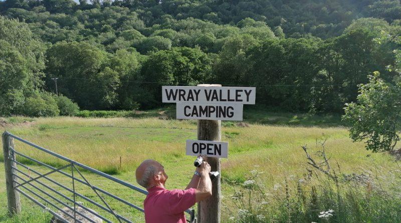 Campsite Open on Dartmoor